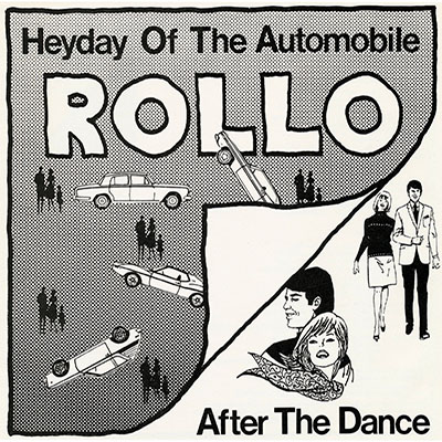 vinyl 45 cover for heyday of the automobile